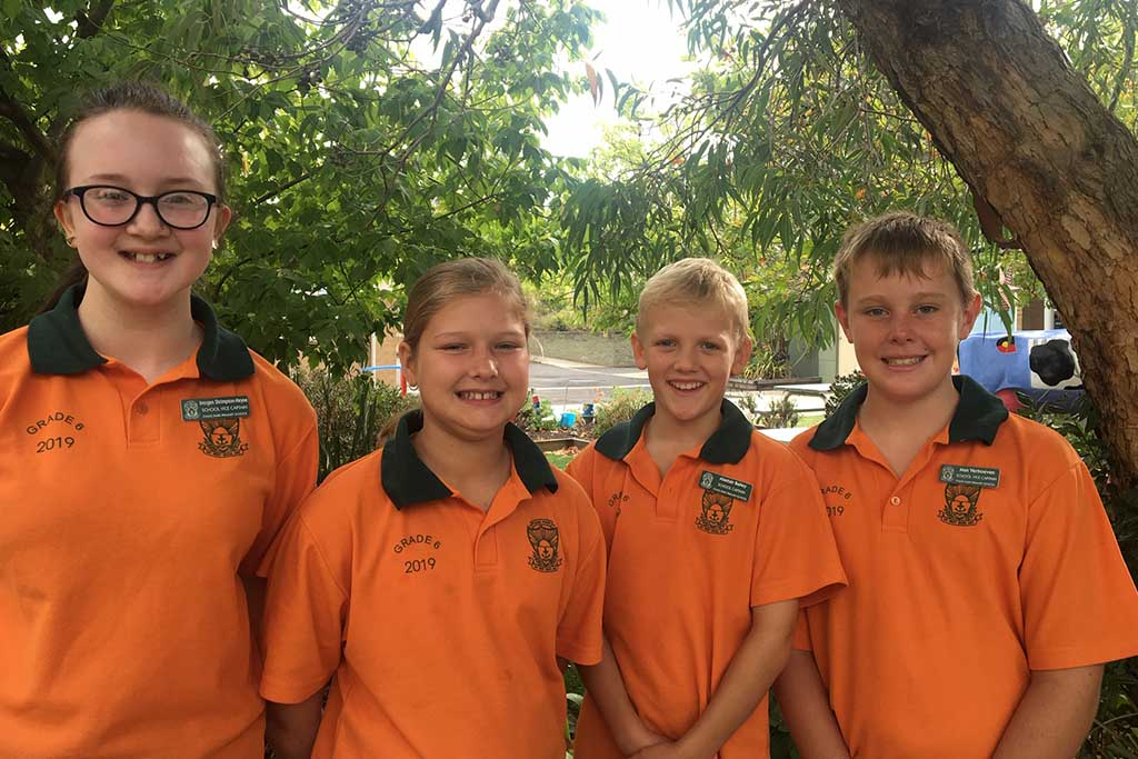 Fyans Park School Captains.