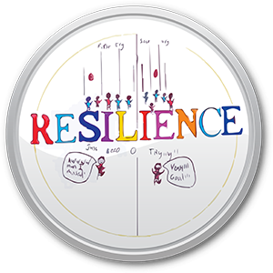 Resillience button for Fyans Park Primary.